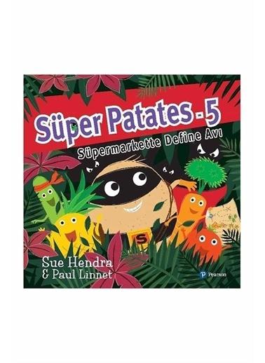 Morhipo kitap Süper Patates 5 Süpermarkette Define Avı Pearson Yayınları Renkli